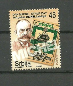 SERBIA 2009 Stamp Day, MICHEL catalogue MNH