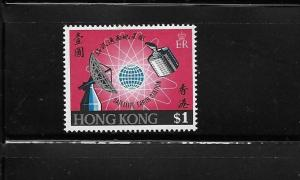 Hong Kong 1969 Satellite earth station Radar Globe MLH