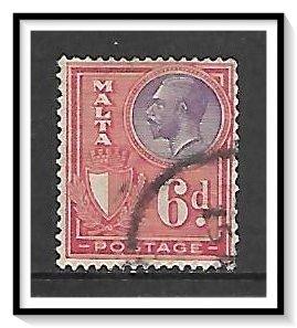 Malta #140 King George V Used
