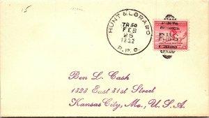 1932 Hunt & Lorado R.P.O. Railway Post Office #187