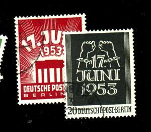 Germany #9N99-100 Used F-VF Cat $32