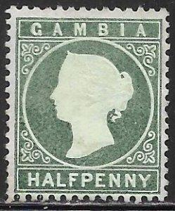 Gambia 12 Unused/Hinged - Victoria