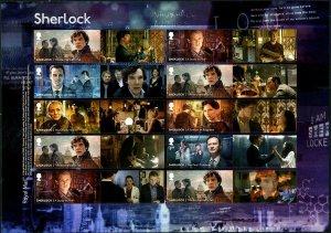 HERRICKSTAMP NEW ISSUES GREAT BRITAIN Sherlock Holmes Collector Sheet