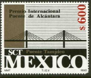 MEXICO 1639, International Prize for the Tampico Bridge. MINT, NH. VF.