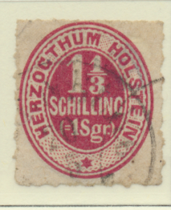 Schleswig-Holstein (German State) Stamp Scott #23, Used, Good Color - Free U....