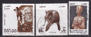 Egypt (1993-99) #C204, C205, C206b used