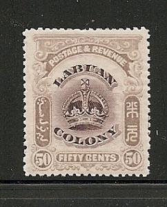 Labuan mint Scott cat.# 108
