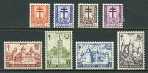 BELGIUM  SCOTT#B503/10   MINT HINGED WITH REMNANT -SCOTT $85.00 FOR NH
