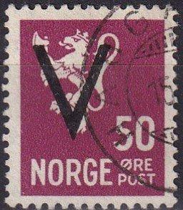 Norway #233  F-VF Used  CV $3.50  (Z8089)