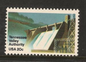 2042 Tennessee Valley Authority Single Postage Stamp Mint/nh (Free Shipping)