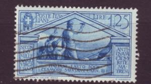 J2433 JLS stamps 1930 italy used #254 $12.00v sailors
