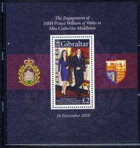 Gibraltar 1266 MNH 2011 Prince William Wedding