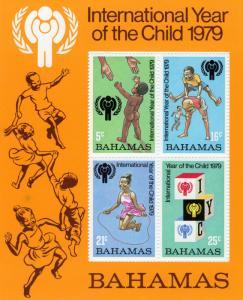 Bahamas 1979 Sc#449a  International Year Child (IYC) S/S (1) MNH VF