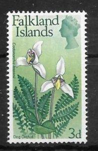 FALKLAND ISLANDS SG235 1968 3d FLOWERS MNH