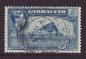 1942 Gibraltar 3d Perf 13 Fine Used