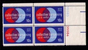 US Sc 1558 MNH Block of Four Pl #35584 F-VF (1975):