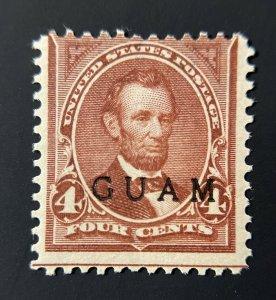 US Guam Stamp # 4 Mint OG H CV $125