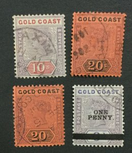 MOMEN: GOLD COAST SG #23,25(2),26 USED LOT #193452-2059