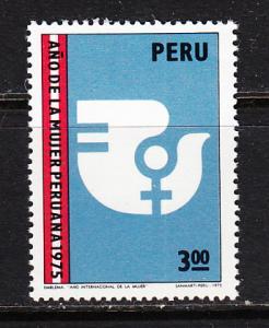 Peru SC# 628  1975 Intl Women Year MNH