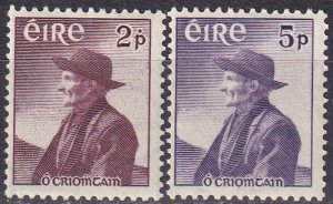 Ireland #159-60 F-VF Unused CV $9.00 (Z5321)