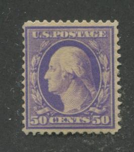 1909 US Stamp #341 50c Mint Hinged F/VF Original Gum Regular Issue