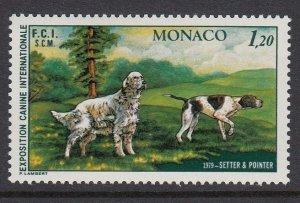 Monaco 1199 Dog Show mnh