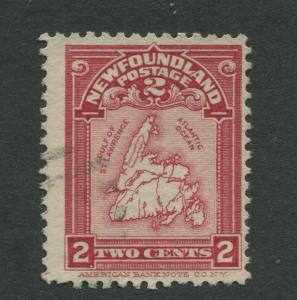 Newfoundland - Scott 86 - QV Definitive - 1908 - FU - Single 2c Stamp