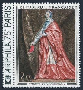 France 1394,MNH.Michel 1867. Cardinal Richelieu by P de Champaigne.ARPHILA-1975.