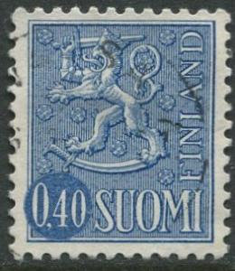 Finland - Scott 406 - Definitives -1963- Used - Single 40p Stamp