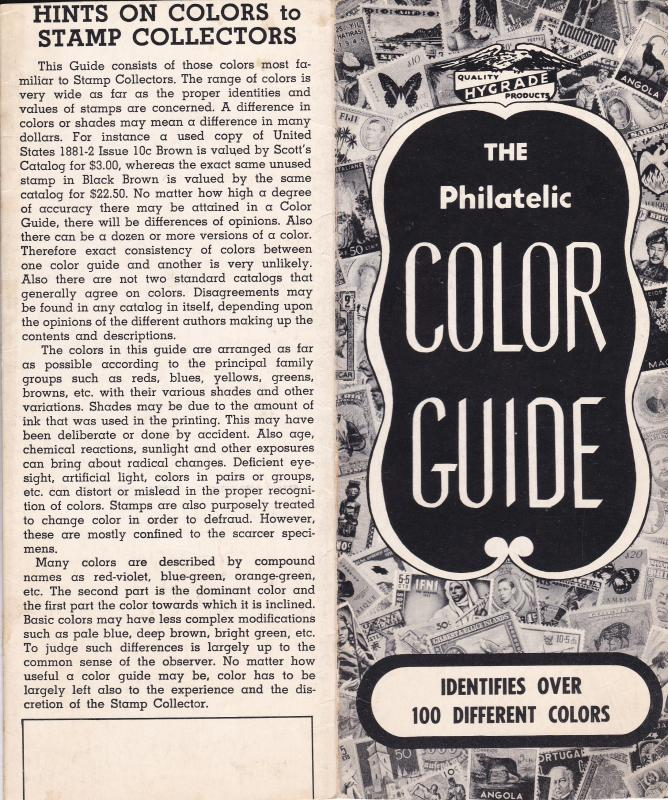 Philatelic Color Guide