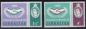 Gibraltar 169-170 MNH (1965)