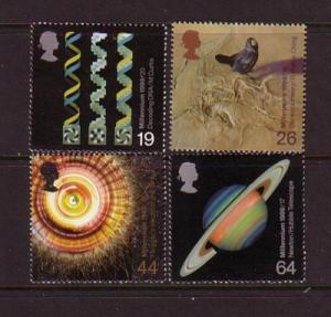 Great Britain Sc 1867-0 1999 Scientists stamp set mint NH