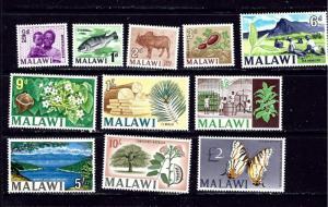Malawi 41-51 MLH 1966-67 Set