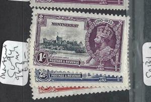 MONTSERRAT   (PP2903B)     KGV SILVER JUBILEE  SG 94, 96-7       MOG