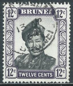 Brunei, Sc #90, 12c Used