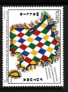 Wallis & Futuna-Sc#412-unused NH set-Overseas Territorial Status-1991-