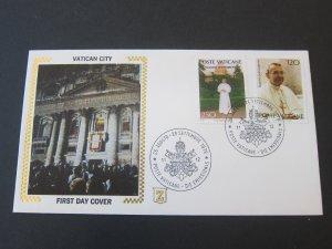 Vatican 1978.9.28 FDC