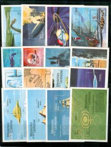 Maldive Is. - Sc# 1757-72 1992 Mysteries of the Universe. NH