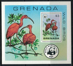Grenada #856* NH  CV $11.00 Scarlet Ibis Souvenir sheet