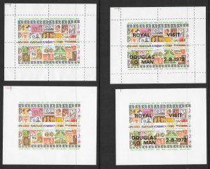 SCOUTING Cinderella Stamp Collection Mint Never Hinged Singles Sheets Imperfs