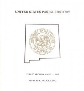 Frajola: Sale # 18  -  United States Postal History, Fraj...