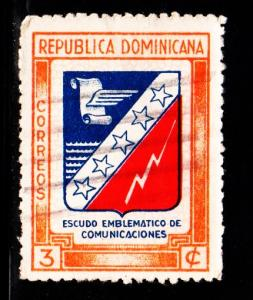 Dominican Republic - #417 Communications - used
