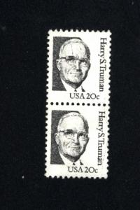 USA #1862   7 used pair 1980-85 PD .12