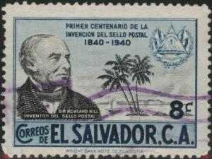 El Salvador Scott 586 Used  1940  stamp