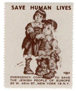 (I.B) US (WW2) Cinderella : Jewish Emergency Fund (Children)