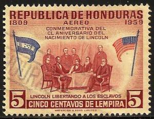 Honduras Air Mail 1959 Scott# C292 Used
