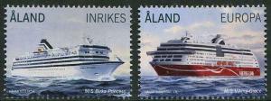 HERRICKSTAMP NEW ISSUES ALAND Passenger Ferries 2014 Stamps