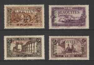 Alaouites C5-C8 Complete Set of 4 SCV $32.00 MINT