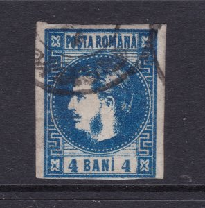 Romania a 4b used from 1868