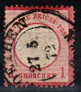 Germany #4 F-VF Used CV $7.25 (X8507)